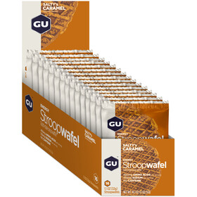 GU Energy Stroop Wafel Box 16x32g Salty's Caramel